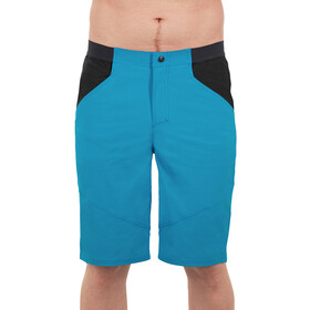 Cube Edge Lichtgewicht Shorts Heren, blue'n'black